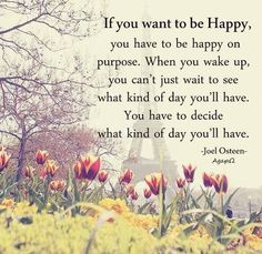 I Choose HAPPYNESS!