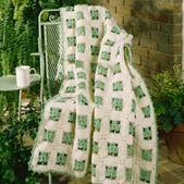 Shamrock Wrap Crochet Pattern ePattern