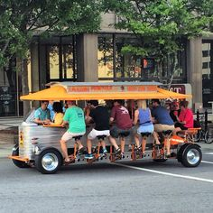 Found a beer trolley in Asheville, NC