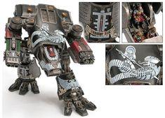 Warhammer 40k Art, Warhammer Models, Warhammer 40k Miniatures, Warhammer Fantasy, Grey Knights, Imperial Knight, Space Marine, Toy Soldiers, Photos Du