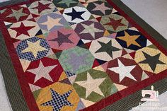 Buggy Barn Star quilt