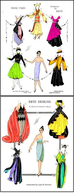 Erte' Designs as Paper Dolls. http://www.papergoodies.com/scripts/prodView.asp?idProduct=143