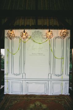 #backdrop  Photography: Terralogical - terralogical.com Design and Planning: Cakes & Champagne - cakesandchampagne.com Floral Design: Gloriosa - gloriosabaliwedding.com  Read More: http://www.stylemepretty.com/2013/05/08/bali-wedding-from-cakes-champagne/