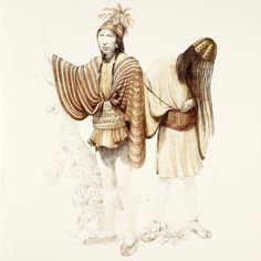 José Perez de Arce - Clothing of the coastal inhabitants of Arica. 1,000 to 1,500 CE. Northern Chile and Southern Peru.