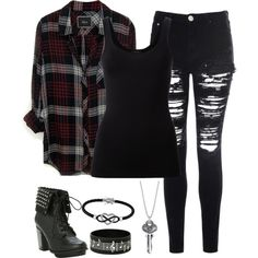 Untitled #1611 by its-just-juli on Polyvore featuring polyvore, fashion, style, Rails, Theory, Glamorous, Hot Topic, Jewel Exclusive and clothing