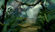Disney's The Lion King Animation Backgrounds