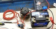 Instalación batería auxiliar con dos relés separadores para consumos en furgo camper    Brico nº 110        Foto nº 33      En  toda furgo c... T3 Vw, Vw T5, Volkswagen, Nissan, Vw Camper, Motorhome, Radios, Kangoo Camper, Toyota Van