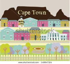 Vector I love Cape Town!