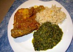 Recette gabonaise : poulet au nyembwé