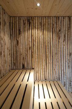 Gallery of The Thermal Baths in Bad Ems / Architekten - 25 - Gallery of The Thermal Baths in Bad Ems / Architekten – 25 The Thermal Baths in Bad Ems,©️ David Matthiessen Saunas, Dyi Bathroom Remodel, Bathroom Ideas, Cabana, Sauna Seca, Sauna Design, Design Design, Backyard Pool Designs, Backyard Pools