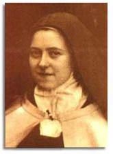 """Saint Therese of Lisieux, Saint Thérèse of the Child Jesus and the Holy Face, also known as """"The Little Flower of Jesus."""" She was beatified in 1923, and canonized in 1925. She was declared co-patron of the missions with Francis Xavier in 1927, and co-patron of France with Joan of Arc in 1944. On 19 October 1997 Pope John Paul II declared her the thirty-third Doctor of the Church, the youngest person, and only the third woman, to be so honored. Devotion to Thérèse has developed around the…"""