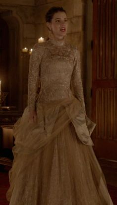 (The Consummation) Mary's dress is amazing!