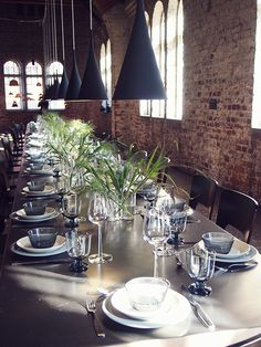 Koti kolmelle - Sisustus & Lifestyle Koti, Helsinki, Table Settings, Dinner, Decoration, Ideas, Design, Home Decor, Style