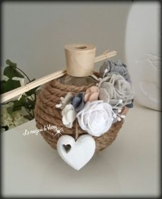 Bead Crafts, Diy Crafts, Neutral, Burlap Crafts, Xmas, Wedding Decor, Paper, Home Decor, Desk Arrangements