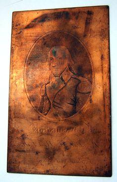 Printing plates George Washington's Mount Vernon