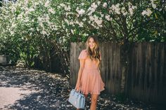 Outfit Details: Urban Outfitters Dress, MCM Bag c/o (also love the light pink), Chloe Flats Living in San Francisco, Thomas and I have definitely enjoyed our fair share of wine country. We've been out to Sonoma and Napa Counties more . Girl Meets Glam, Honeymoon Attire, San Francisco Shopping, Summer Outfits, Summer Dresses, Urban Outfitters Dress, Wallpaper, I Dress, Fashion Photo