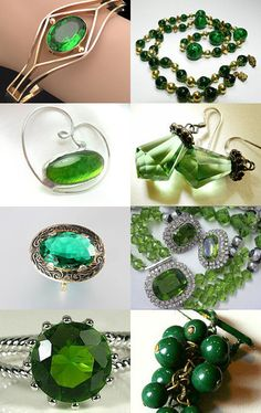 Grinning Green! - vintage jewelry