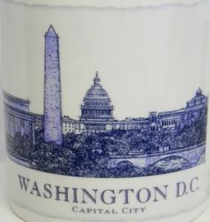 Starbucks Mug #Washington DC Architectural Series City Coffee Cup 2008 18 oz #Starbucks #coffee