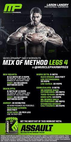 Mix of Method Legs 4