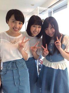 Kanako, Shiori and Momoka  Momoiro Clover Z