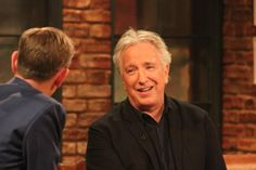 "March 27, 2015 - Alan Rickman was on ""The Late, Late Show"" in Dublin, Ireland."