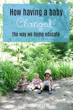 How our third baby changed the way we home educate