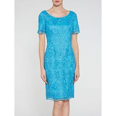 Buy Gina Bacconi Embroidered Corded Dress Online at johnlewis.com