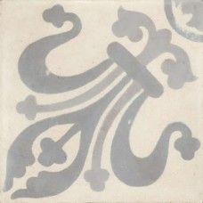 Moroccan Encaustic Cement Pattern Grey Tile gr10 | £ 2.47 | Moroccan Encaustic Cement Pattern Tiles | Best Tile UK | Moroccan Tiles | Cement Tiles | Encaustic Tiles | Metro Subway Tiles | Terracotta Tiles | Victorian Tiles