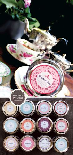 Free Printable Mason Jar Labels    How cool is this...great for gifts.  (3 download links at the bottom of the page
