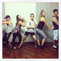 Montando coreografia