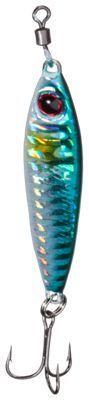 Bass Pro Shops Jiggy Twitch It HD Spoon - 2-5/8'' - Blue Shad