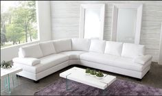Sectional Sofa Vanity Collection (LF Love, RF Sofa, Corner Wedge) Blended Leather Finish: Mocca Whte Dimension: LF Love:59 x 37 x 35 RF Sofa:83 x 37 x 35 Corner Wedge: 66 x 40 x 35 Sectional Sofa Sale for $1297