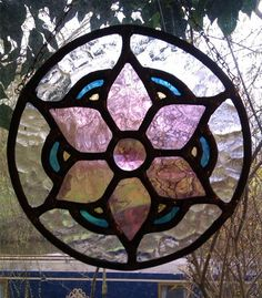 Stained glass - Rose Mandala by Gincat