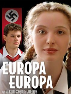 Europa Europa - A film directed by Agnieszka Holland. Amazing film about… 1990 Movies, Top Movies, Movies And Tv Shows, Movies Free, Julie Delpy, Young Movie, Movie Tv, Tv Series Online, Movies Online