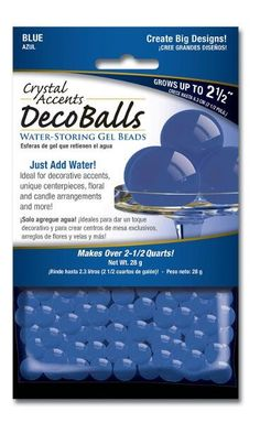 Blue Deco Balls | 1 Package for $2.97 in Centerpieces - Decorations - Wedding