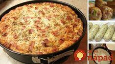 Zbierka 21 najlepších receptov zo staršieho chlebíka alebo rožkov: Už nikdy nemusíte váhať, čo na večeru! Slovak Recipes, Quiche, Macaroni And Cheese, Deserts, Health Fitness, Pizza, Menu, Baking, Breakfast