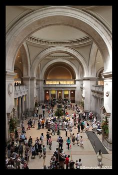 """The Great Hall""  Metropolitan Museum of Art Copyright: Andre Bonavita"