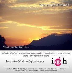"""Si quieres compartir """"tus miradas"""" mándanos paisajes o fotos curiosas que quieras que todos VEAN!!! Gracias Laura Polo Farfalla por compartir con nosotros tus miradas! síguenos en http://www.iohoyos.com/"""
