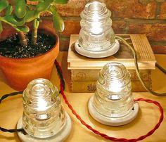 Glass Hemingray Lamp Uncovet