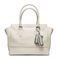 Simple and elegant: the Legacy Candace Carryall in Parchment.