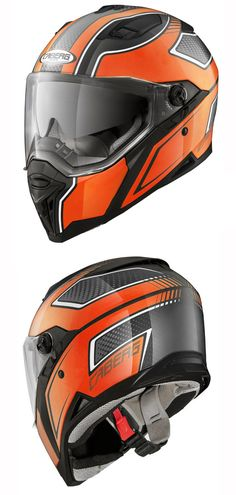 bd5bf1a1c0ec8e Caberg Stunt Blade Helmet in Black Orange - The  Stunt helmet from  Caberg  is a full face thermoplastic  helmet with awesome graphics!
