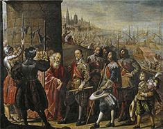 Pereda Y Salgado Antonio De The Rescue Of Genoa By The II Marquis Of Santa Cruz 1634  Oil Painting 16 X 20 Inch  41 X 52 Cm printed On Perfect Effect Canvas this Imitations Art DecorativePrints On Canvas Is Perfectly Suitalbe For Bathroom Gallery Art And Home Artwork And Gifts