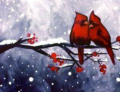 Winter Cardinals & Love