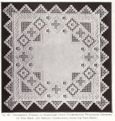 Vintage, Retro & Simply Cute Shopping: Hardanger Embroidery