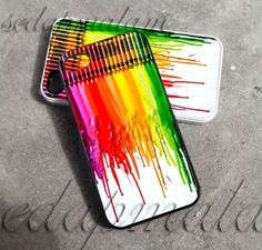 Melting Crayon Colorful  iPhone 4/4s/5 Case  by bungasedapmalam, $14.90