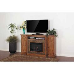 Sedona Fireplace/Tv Console