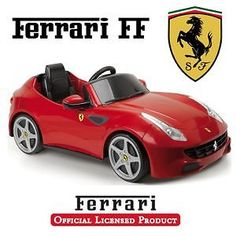 #Feber #licensed #ferrari ff 6v kids electric ride on cars - red, View more on the LINK: http://www.zeppy.io/product/gb/2/122192855430/