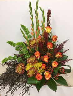 Send Seasonal Tribute in Pratt, KS from The Flower Shoppe, the best florist in Pratt. All flowers are hand delivered and same day delivery may be available. Altar Flowers, Church Flowers, Funeral Flowers, Fall Flowers, Wedding Flowers, Flowers Garden, Flowers Bunch, Flowers Decoration, Flower Gardening