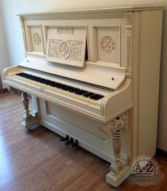Love the look of this piano! @Sarah Chintomby James Piano by A to Z Custom Creations