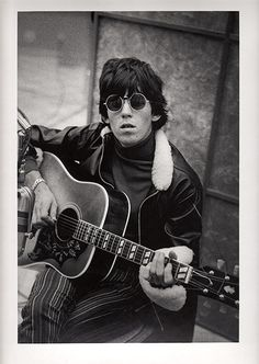 Keith Richards at RCA Studios during the recording of the album Aftermath in Hollywood, December 1965  www.robertnixcomposer.com